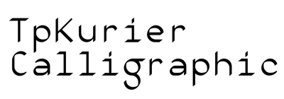 VLNL TpKurier Calligraphic