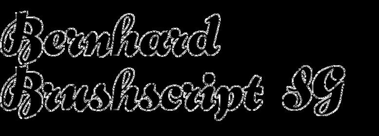 Bernhard Brushscript SG