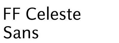 FF Celeste Sans