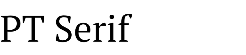 PT Serif