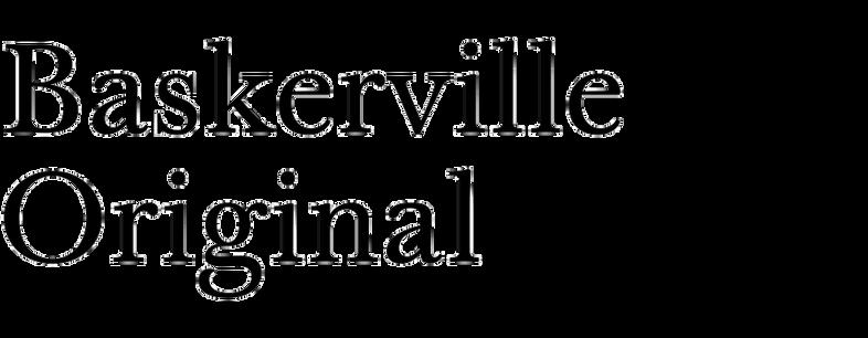 Baskerville Original