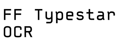 FF Typestar OCR