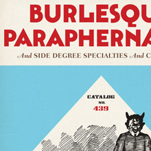 <cite>Burlesque Paraphernalia and Side Degree Specialties and Costumes</cite>