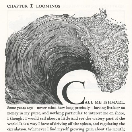 <cite>Moby Dick</cite>, the Arion Press edition
