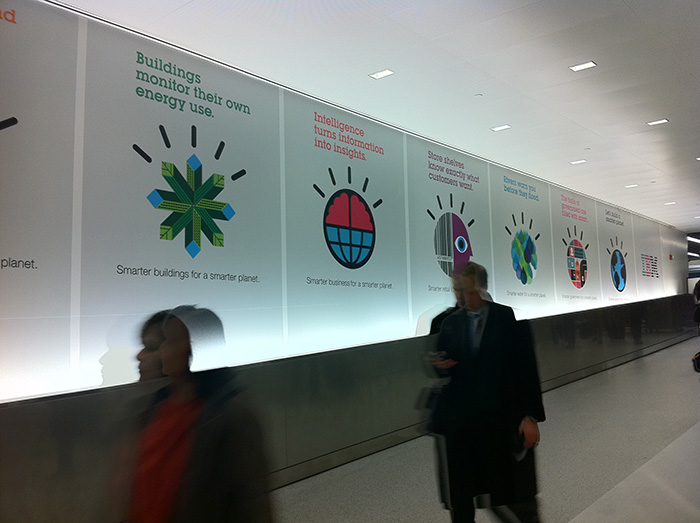 IBM airport ads