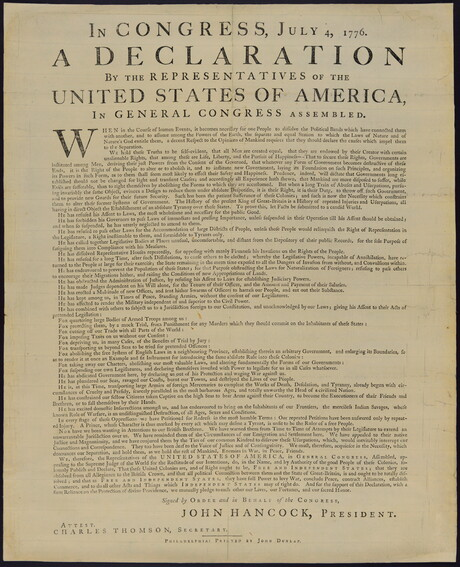 The Dunlap Broadside
