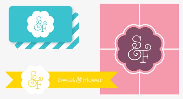 Sweet & Flower Identity
