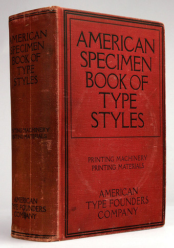 ATF Specimen Book 1912