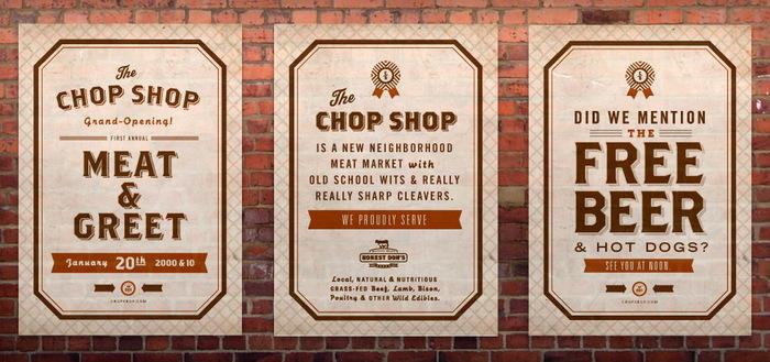 Chop Shop Posters