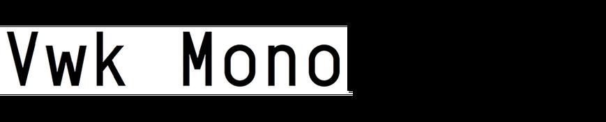 Vwk Mono