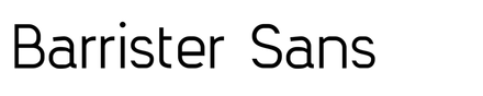 Barrister Sans
