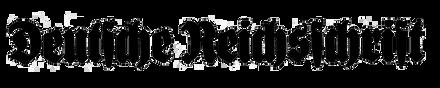 Deutsche Reichsschrift