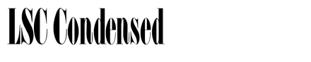 LSC Condensed
