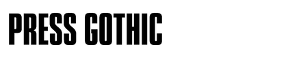 Press Gothic