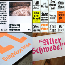 Contemporary German Blackletter