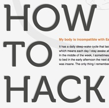 <i>How to hack your brain</i> website