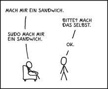 German version of xkc