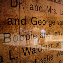 De Young Museum Donor Wall