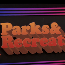 "The ""New Font Project"" on Parks & Recreation"