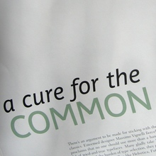<cite>Cure for the Common Font</cite>, HOW magazine 2/2009