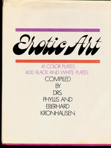 <cite>Erotic Art</cite> compiled by Drs. Phyllis and Eberhard Kronhausen