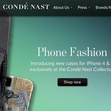 Condé Nast homepage