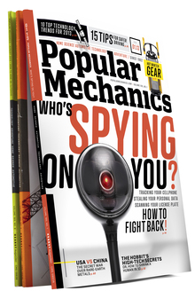 <cite>Popular Mechanics</cite> Jan 2013 Cover
