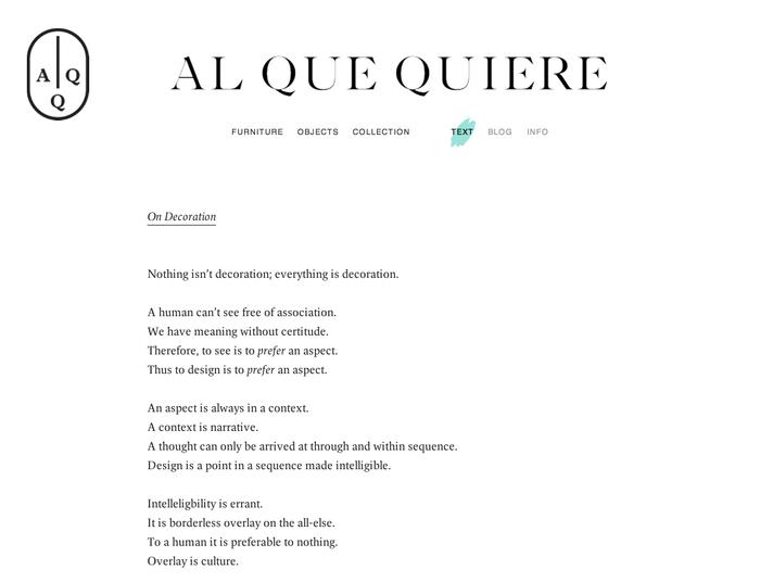 On Decoration   Al Que Quiere.png