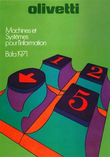 Olivetti: Machines et Systèmes pur l'information, Büfa 1971