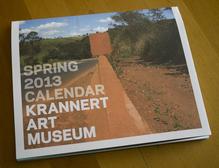 Krannert Art Museum Spring 2013 Calendar