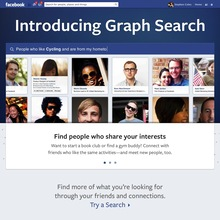 Facebook Graph Search Introduction Page