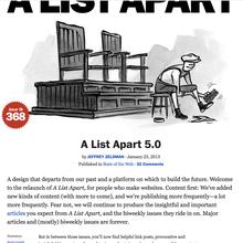 <cite>A List Apart</cite> 5.0