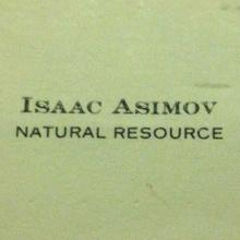 Isaac Asimov's Business Card