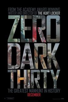 <cite>Zero Dark Thirty</cite> Movie Posters
