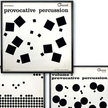 <cite>Provocative Percussion</cite> Series from Command Records