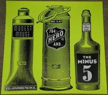 Modest Mouse, 764-HERO, The Minus 5 at V.U.Lounge