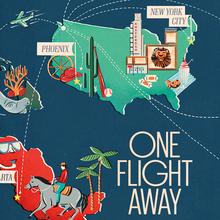 """One Flight Away"" – <cite>Seattle Met</cite>, Feb 2013"