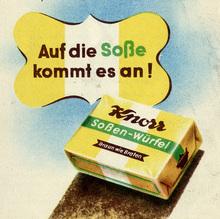 Knorr Soßen-Würfel