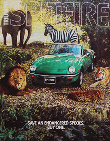 Triumph Automobile Ads (1977–80)