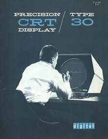 Digital Precision CRT Display Type 30 Manual