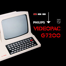 Philips Videopac G7200 Video Game Console