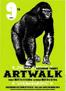 9th annual Greenwood Phinney Artwalk