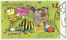 German Janosch stamps