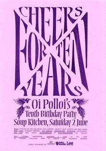 Oi Polloi's Tenth Birthday Party