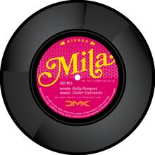 Vinyl Birth Announcement