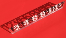 13-inch Lucite® ruler