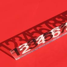13″ Lucite® ruler