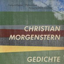 <cite>Gedichte</cite> by Christian Morgenstern