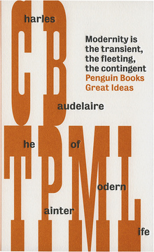 <cite>The Painter of Modern Life</cite>, Penguin Books Great Ideas Edition