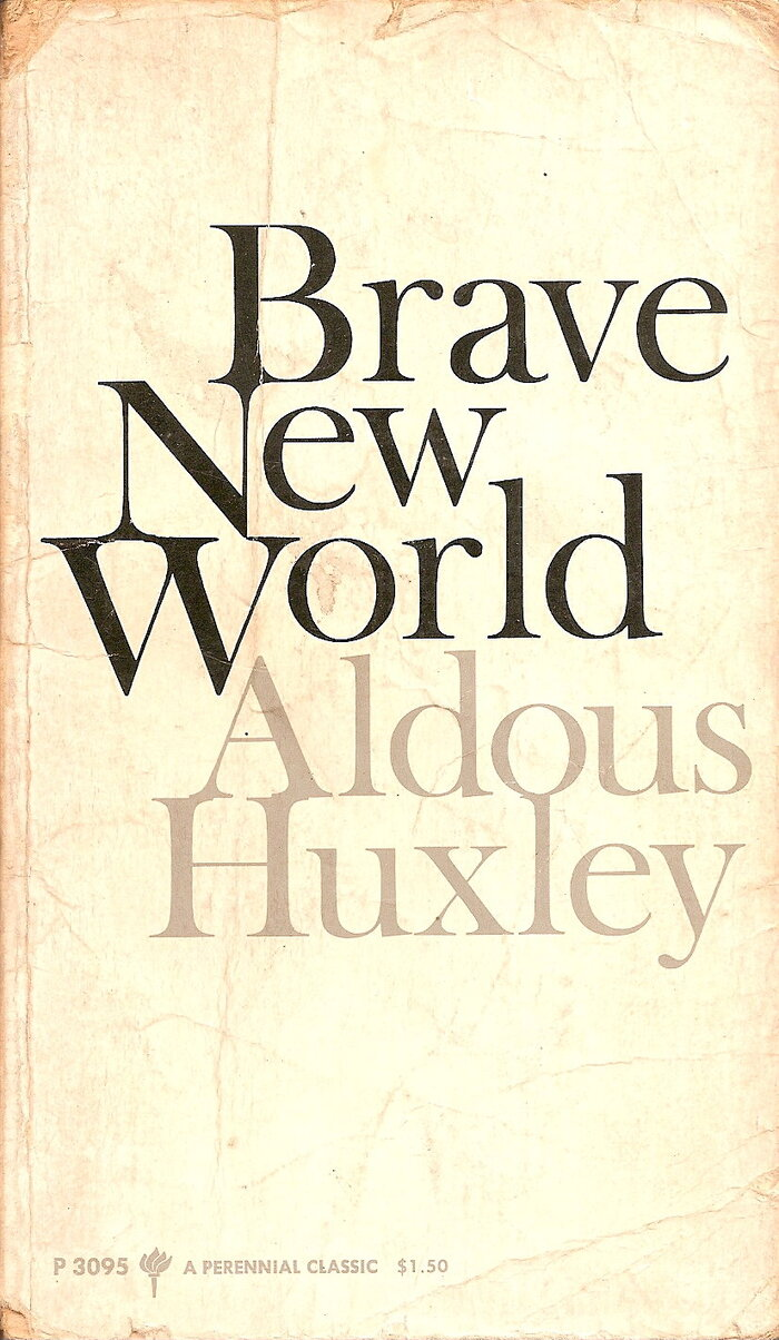 Huxley 1932 - Brave New World.jpg